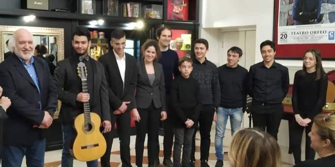 L'Ora della Cultura – Un' iniziativa promossa dall'Ateneo della Chitarra e delle Arti, per valorizzare i giovani talenti del Conservatorio di Musica G. Paisiello, di Taranto