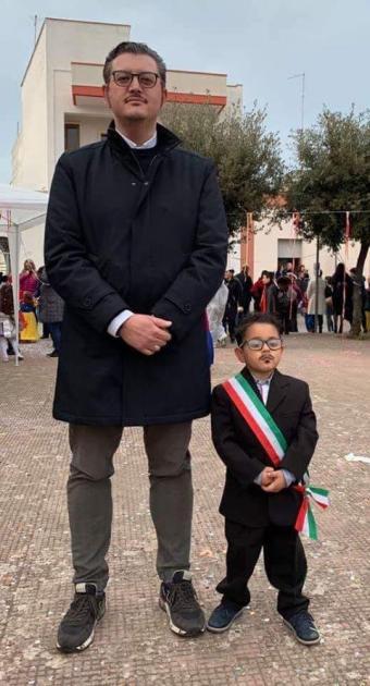 Maruggio. Carnevale 2020, terzo posto alla mascherina di Papa Francesco