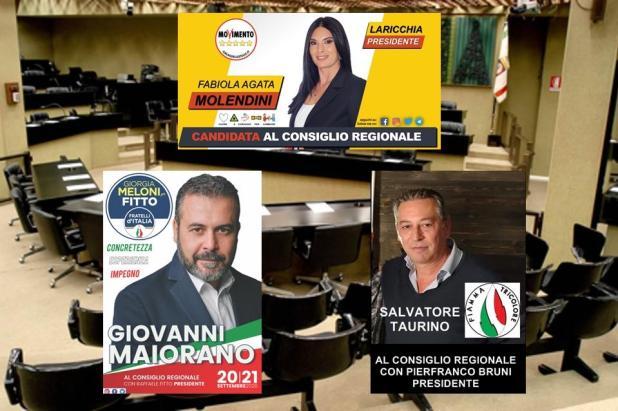 ELEZIONI REGIONALI PUGLIA – Tre maruggesi per il consiglio regionale. Sono due uomini e una donna