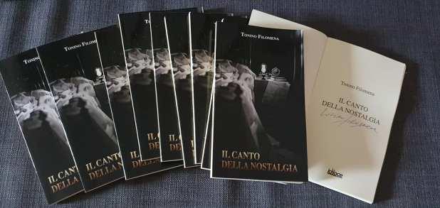 Tonino Filomena un grande scrittore. Parola mia. Con la nostalgia nel canto