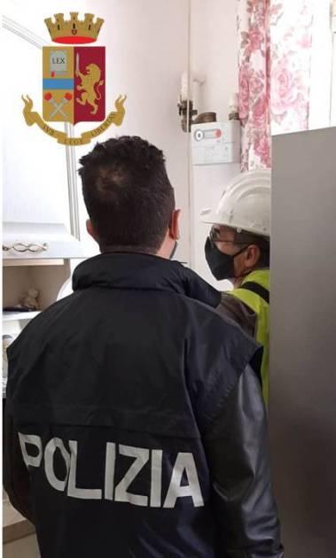 Furti di energia elettrica e gas nel mirino della Polizia di Stato. A Manduria 35 appartamenti con allacci abusivi