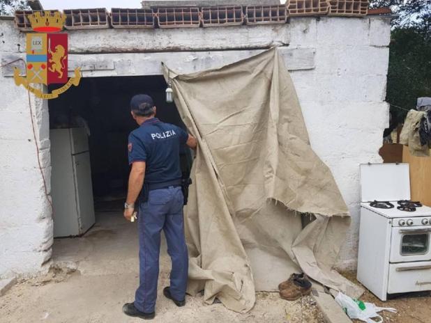 Maruggio: Caporalato, notificato a sei persone l'avviso di conclusione indagini dalla Polizia di Stato