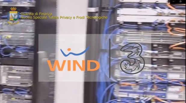 """OPERAZIONE """"VAS AL TELEFONO"""": truffe ai clienti, sequestrati 21 milioni di euro al provider WINDTRE"""