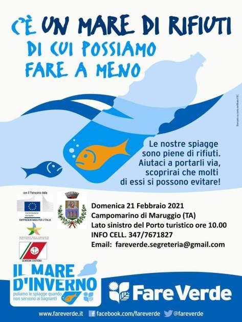 """Campomarino di Maruggio. Puglia inizia la XXX edizione nazionale de """"Il mare d'inverno"""""""