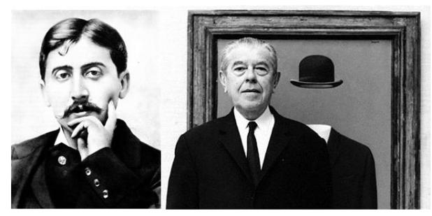 La dolce attesa irrevocabile dell'alba che muore nel nostro tempo:da Proust a Magritte