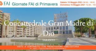 """Il 15 e 16 Maggio 2021 tornano le """"Giornate FAI di Primavera"""": a Taranto aperta la Concattedrale progettata da Giò Ponti"""
