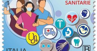 Emesso un francobollo dedicato alle professioni sanitarie in prima linea contro il Covid-19