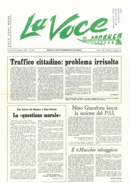 ANTEPRIMA N.264 Agosto 1987