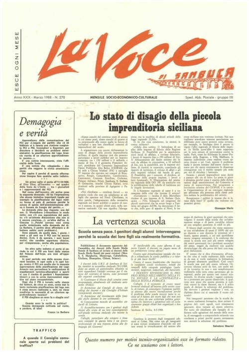 ANTEPRIMA N.270 Marzo 1988
