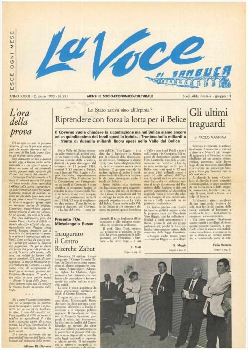 ANTEPRIMA N.291 Ottobre 1990
