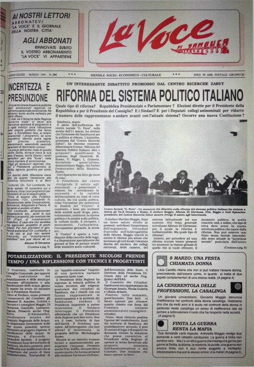ANTEPRIMA N.296 Marzo 1991