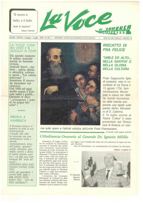 ANTEPRIMA N.333 Giugno Luglio 1995