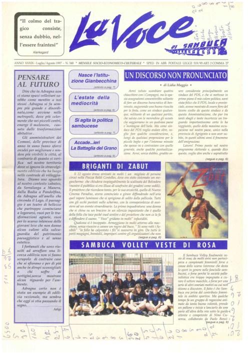 ANTEPRIMA N.348 Luglio Agosto 1997