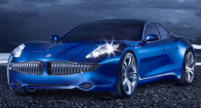 La Fisker Karma qui attend toujours son entrée en phase de production