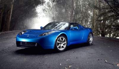 Tesla-Roadster-blue
