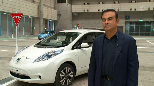 ghosn voiture autonome