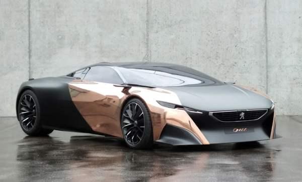 La Peugeot Onyx Concept hybride non rechargeable