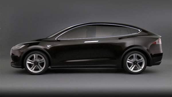 La future Tesla Model X
