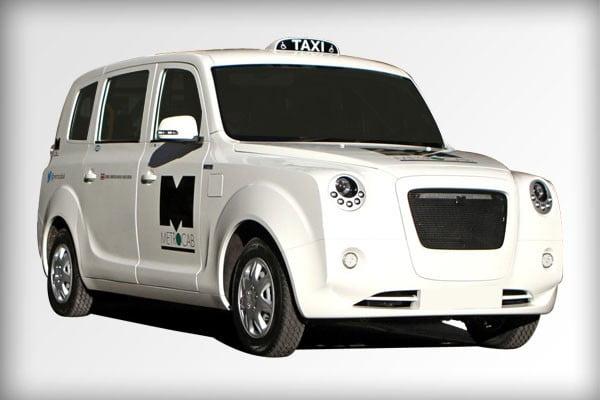 metrocab taxi electrique
