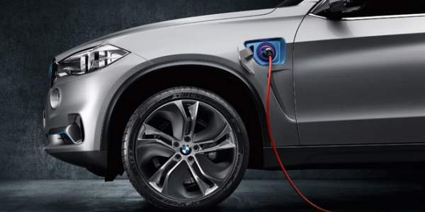 bmw hybride rechargeable