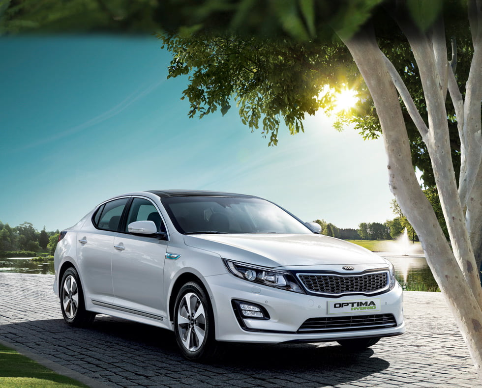 kia optima hybrid voiture hybride essais prix caract ristiques. Black Bedroom Furniture Sets. Home Design Ideas