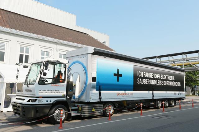 BMW camion électrique