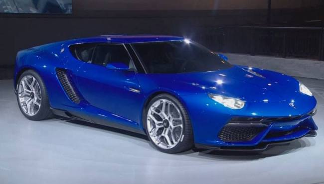 lamborghini asterion hybride rechargeable