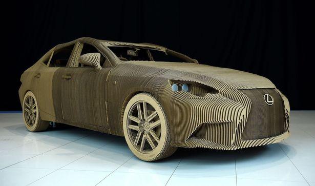 Curiosité Une Voiture électrique Origami Par Lexus