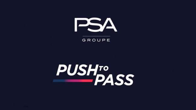 PSA groupe push to pass
