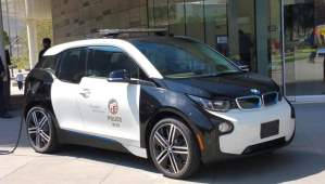 100 BMW i3 pour la police de Los Angeles