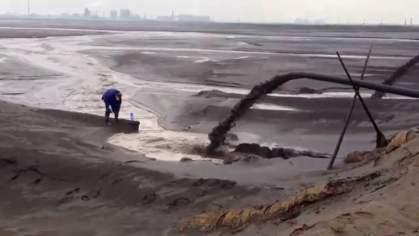 Lac toxique de Baotou