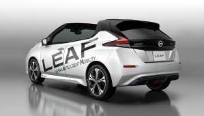 Une Nissan Leaf décapotable présentée à Tokyo