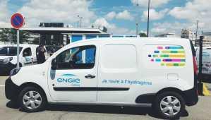 Voiture à l'hydrogène: une station multicarburant et une nouvelle flotte pour ENGIE