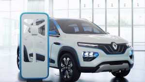 Mondial de l'automobile : Renault dévoile un crossover électrique entrée de gamme