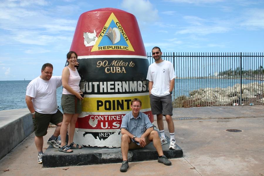 Le point le plus au sud des USA