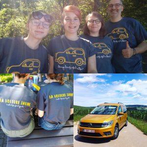 La voiture jaune Allemagne