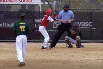 Softball: qualified begin for Joey Rousseau with Canada on the World Cup
