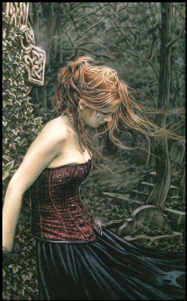 Dama, medieval, fantástico, épico