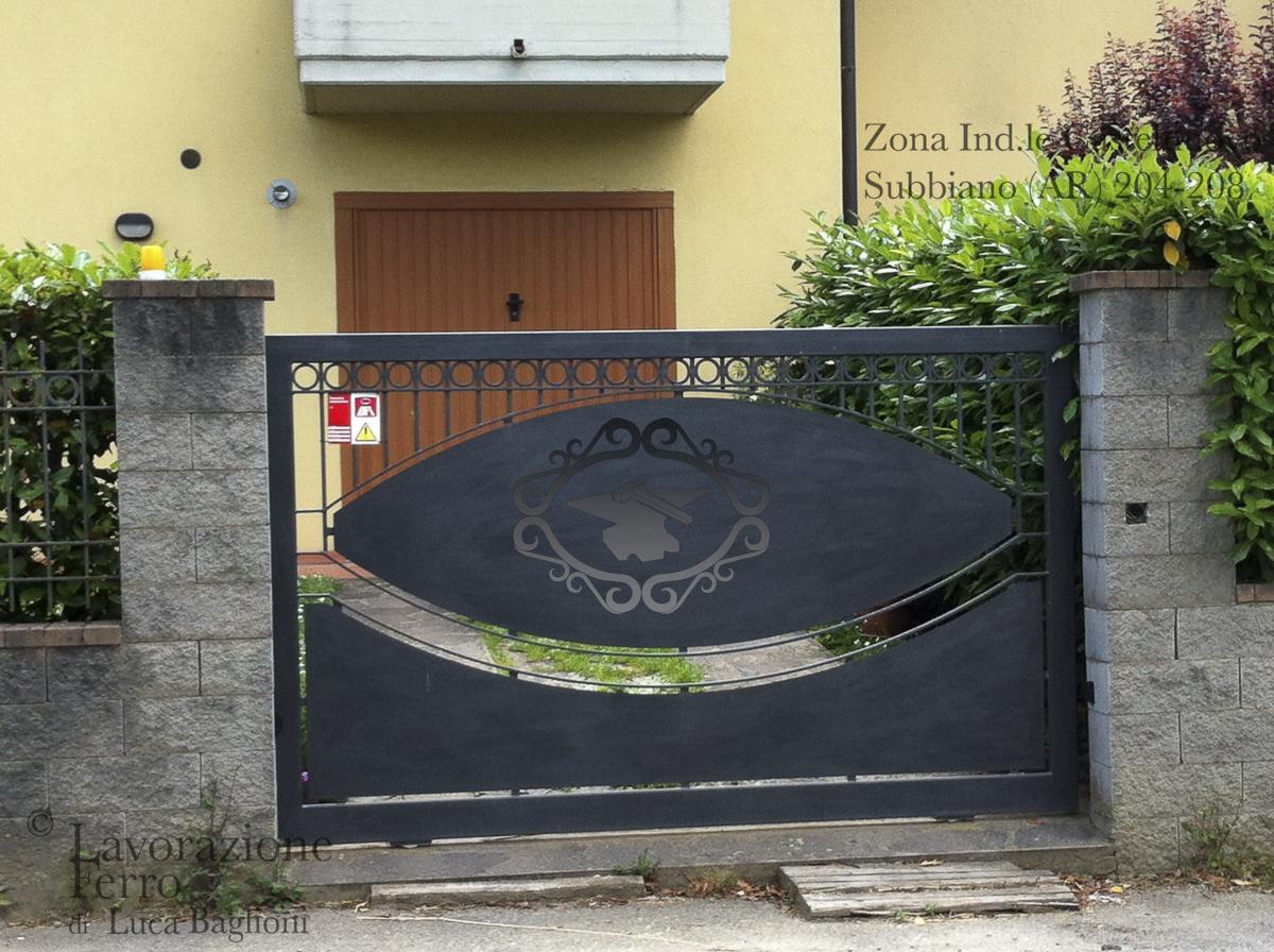 Cancelli Scorrevoli  LAVORAZIONE FERRO
