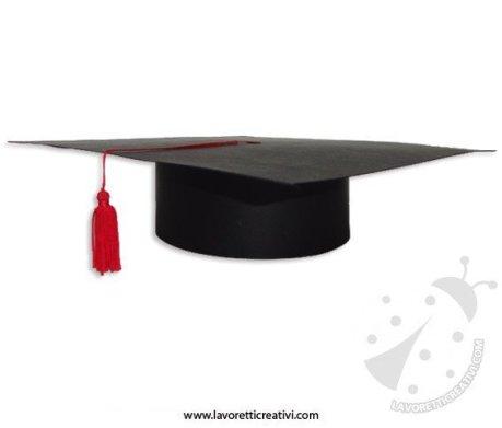 Cappello di laurea fai da te