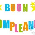 Festone Buon Compleanno – Lettere