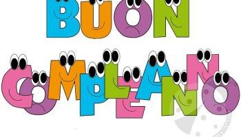 Festone Buon Compleanno Lettere Lavoretti Creativi