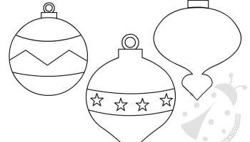 Sagome Palline Di Natale Lavoretti Creativi