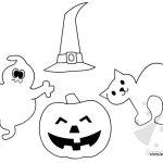 Halloween: sagome per lavoretti