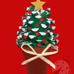 Albero di Natale con pigna
