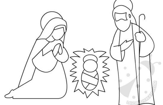 Natale - Sagome presepe