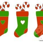 Festone di Natale da stampare