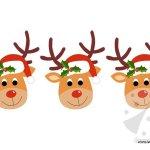 Addobbi Natale – Festone con renne