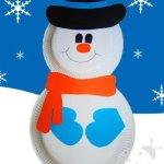 Lavoretto Inverno – Pupazzo di neve
