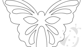Farfalle Sagome Da Ritagliare Lavoretti Creativi